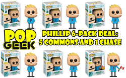 Funko POP! Phillip Chase 6-Pack Deal ***Pre-Order***