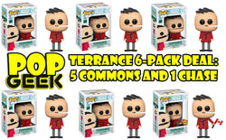 Funko POP! Terrance Chase 6-Pack Deal ***Pre-Order***