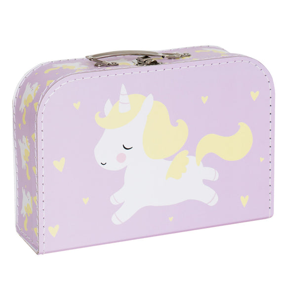 SUITCASE - pink unicorn