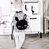 BACKPACK - bunny dots