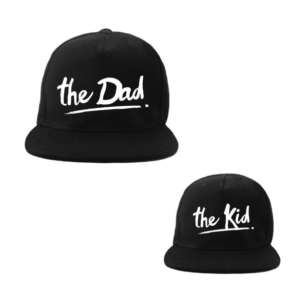 HATS - dad and kid
