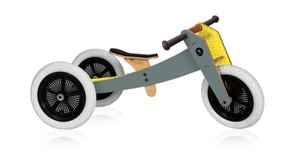 WISHBONE BIKE 3-IN-1 GREY