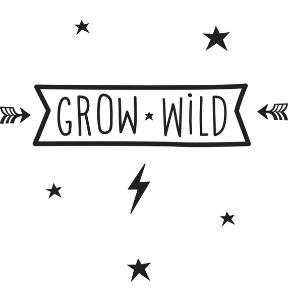 WALL STICKERS - grow wild