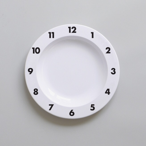DINNER TIME PLATE