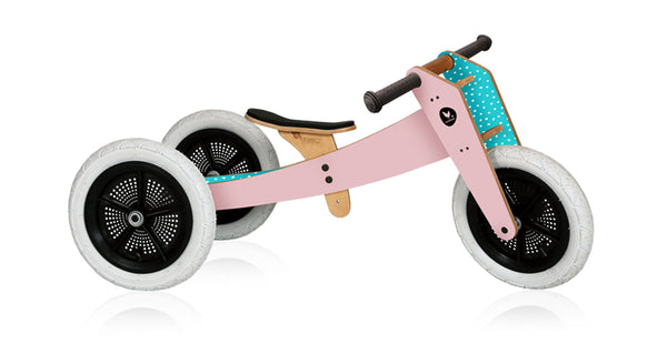 WISHBONE BIKE 3-IN-1 PINK