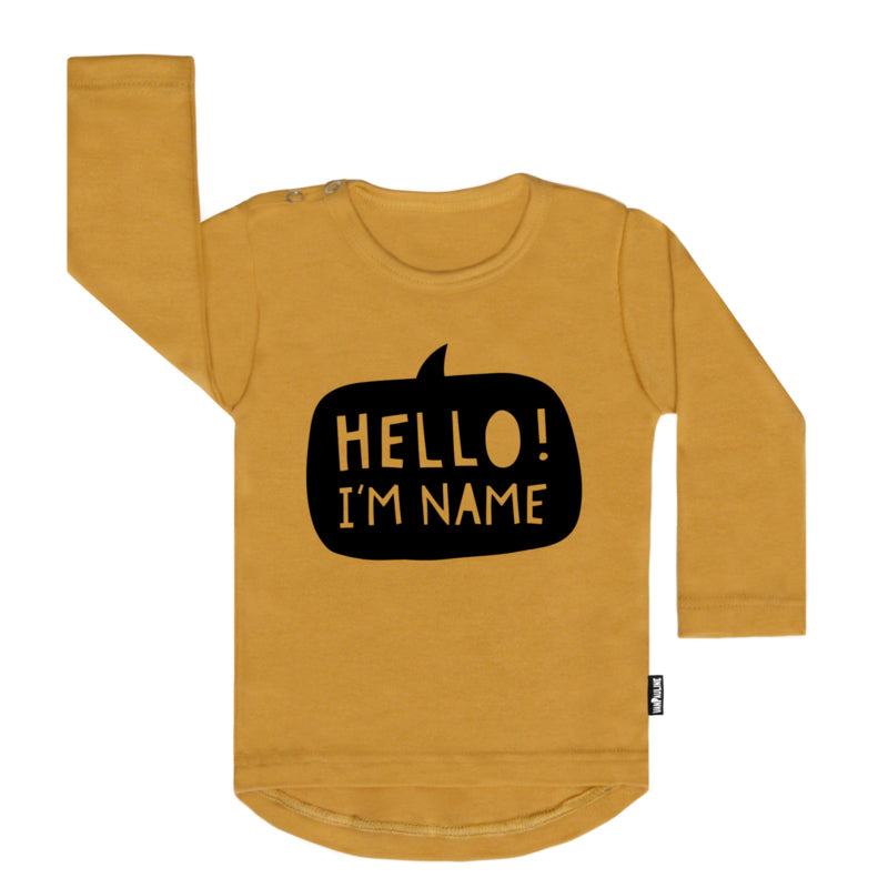 T SHIRT - personalized name