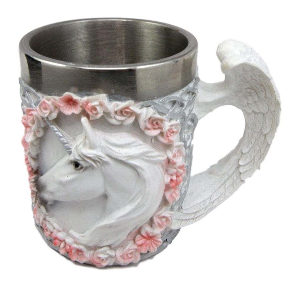 Unicorn Mug with Pink Roses Design | Just in time for Mother's day