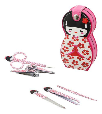 grooming manicure pedicure set
