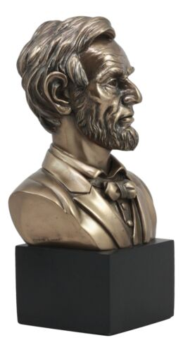Great United States of America 16th President Abraham Lincoln Bust Figurine