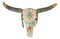 Large Navajo Native Spirit Dreamcatcher Buffalo Bull Cow Skull Wall Head Decor
