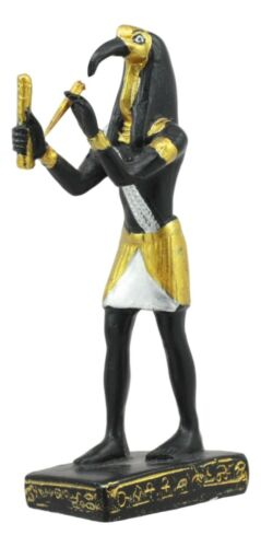 Egyptian God Of Technology Wisdom Thoth Dollhouse Miniature Statue Gods Of Egypt