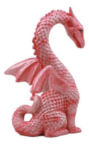 "Valentine Cupid Love Pink Dragon Figurine 4.25""H Romantic Female Dragon Statue"