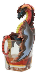 "Ebros Beverage Drunken Spirit Dragon 7.75"" Tall Fantasy Figurine (Rum Dragon)"