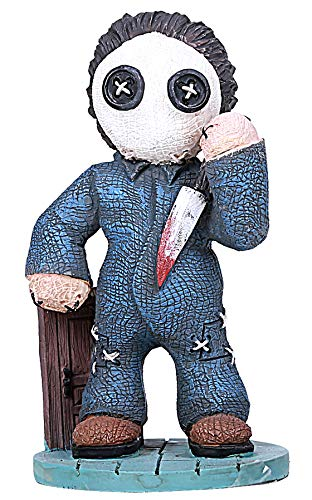 "Ebros Pinheadz Monster with Voodoo Stitches Figurine 4.25""H (Michael Myers)"