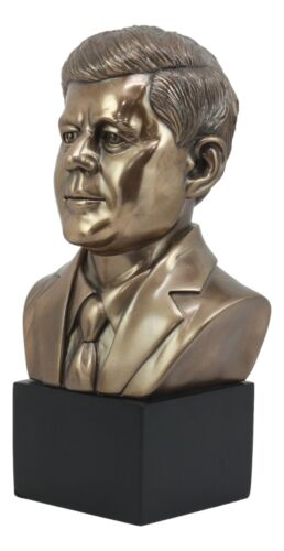 "United States President John Fitzgerald Kennedy Bust Figurine Replica 9.5""H"