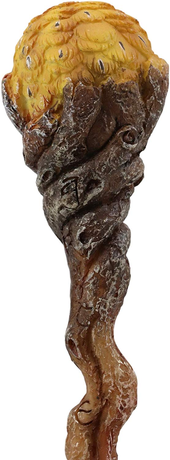 "EbrosWise Owl of Artemis Cosplay Wand 9.5"" Tall Accessory Fantasy Decor"