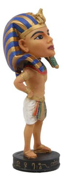 Egyptian Dynasty Man Deity God Pharaoh King Tut Bobblehead Figurine Bobble Head