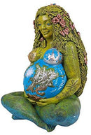 Ebros 24 Inches Tall Millennial Gaia Mother Earth Goddess Statue by Oberon Zell - Ebros Gift