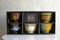 Pack Of 5 Made In Japan Colorful Gradient Art Kiln Natural Glazed Ceramic Bowls