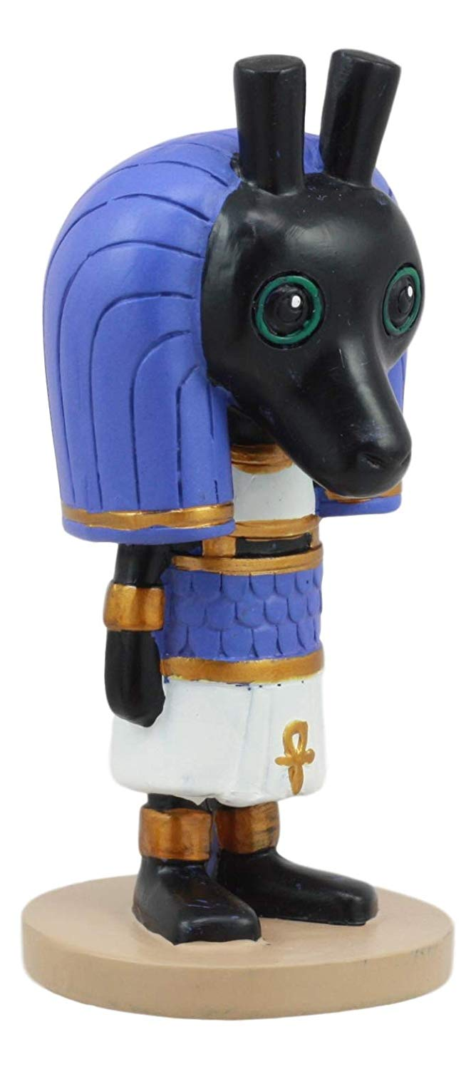 "Ebros Weegyptians Collection Egyptian God Seth Statue 4"" Tall God The Desert Storms Chaos"