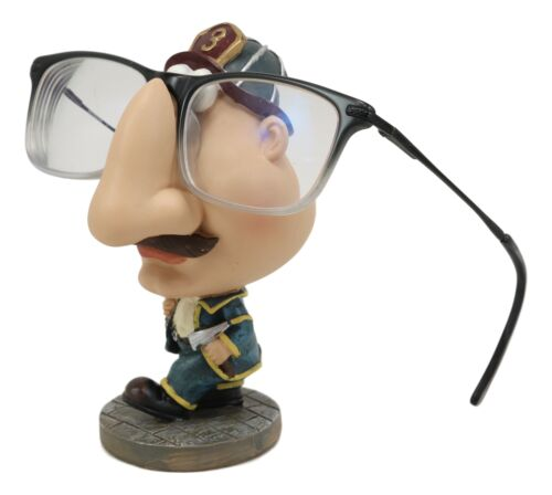 Fireman Fire Fighter 911 Novelty Whimsical Eyeglass Spectacle Holder Statue