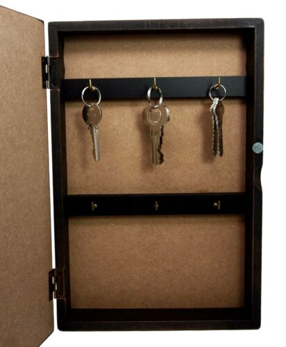Fantasy Enter The Dragon Lair Book Shaped Multiple Keys Secret Storage Organizer