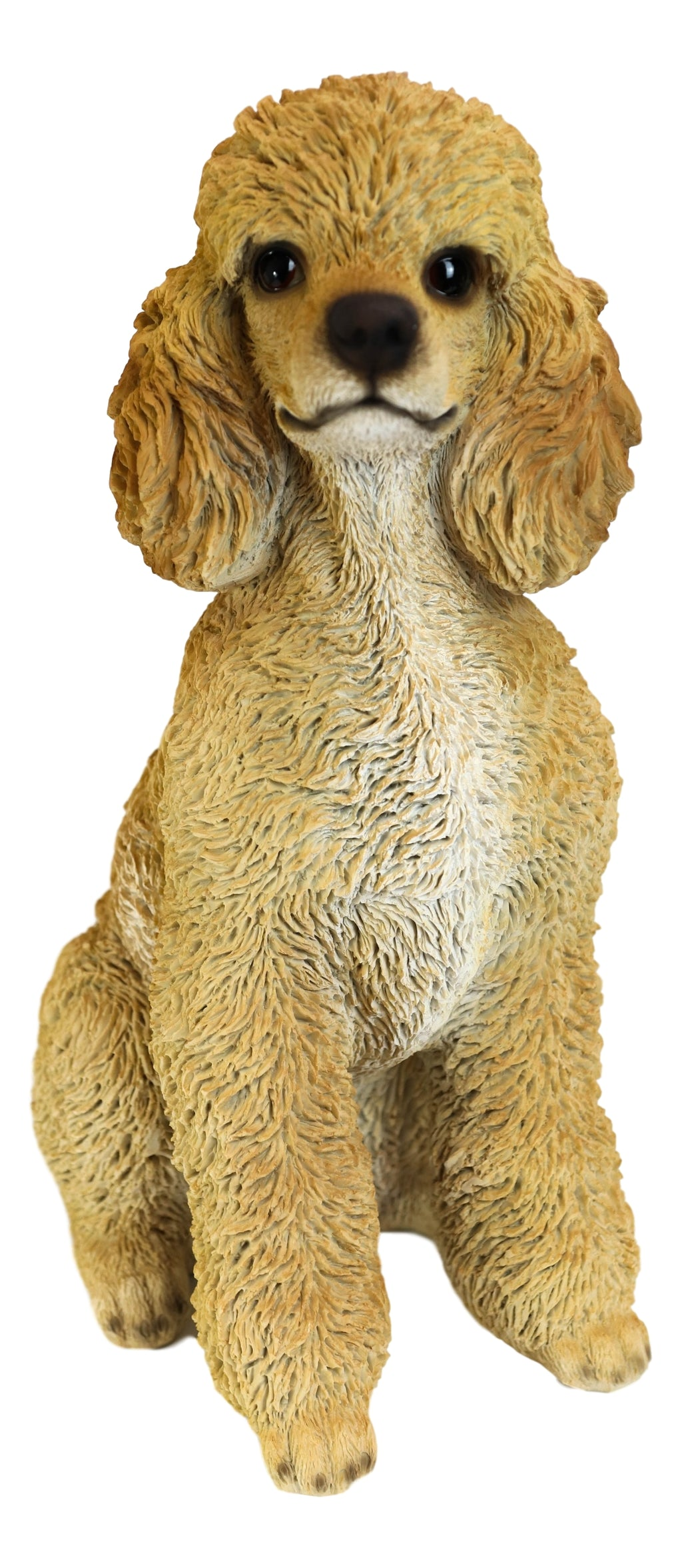 Large Realistic Groomed Brown Poodle Statue 18 5 H Animal Pet Pal Pood Ebros Gift