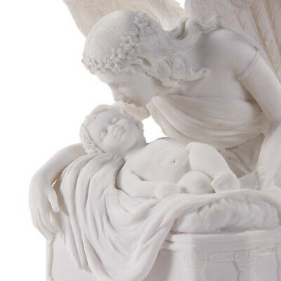 Ebros Angel Whispers Urn Medium 8.75 Inch Height 48 Cubic Inches Capacity