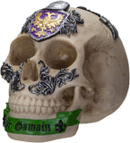 Ebros Knights of The Round Table King Arthur Skulls Sir Gawain Skull Figurine
