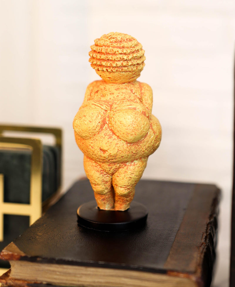 "Venus of Willendorf Reproduction Paleolithic Period Art 4.75"" Tall Figurine"