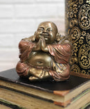 "Meditating Praying Hotei Happy Buddha Figurine 4""H Buddhism Feng Shui Statue"