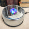 Rotating Colorful 4 LED Light Mirror Display Base for Crystal Acrylic Glass Art