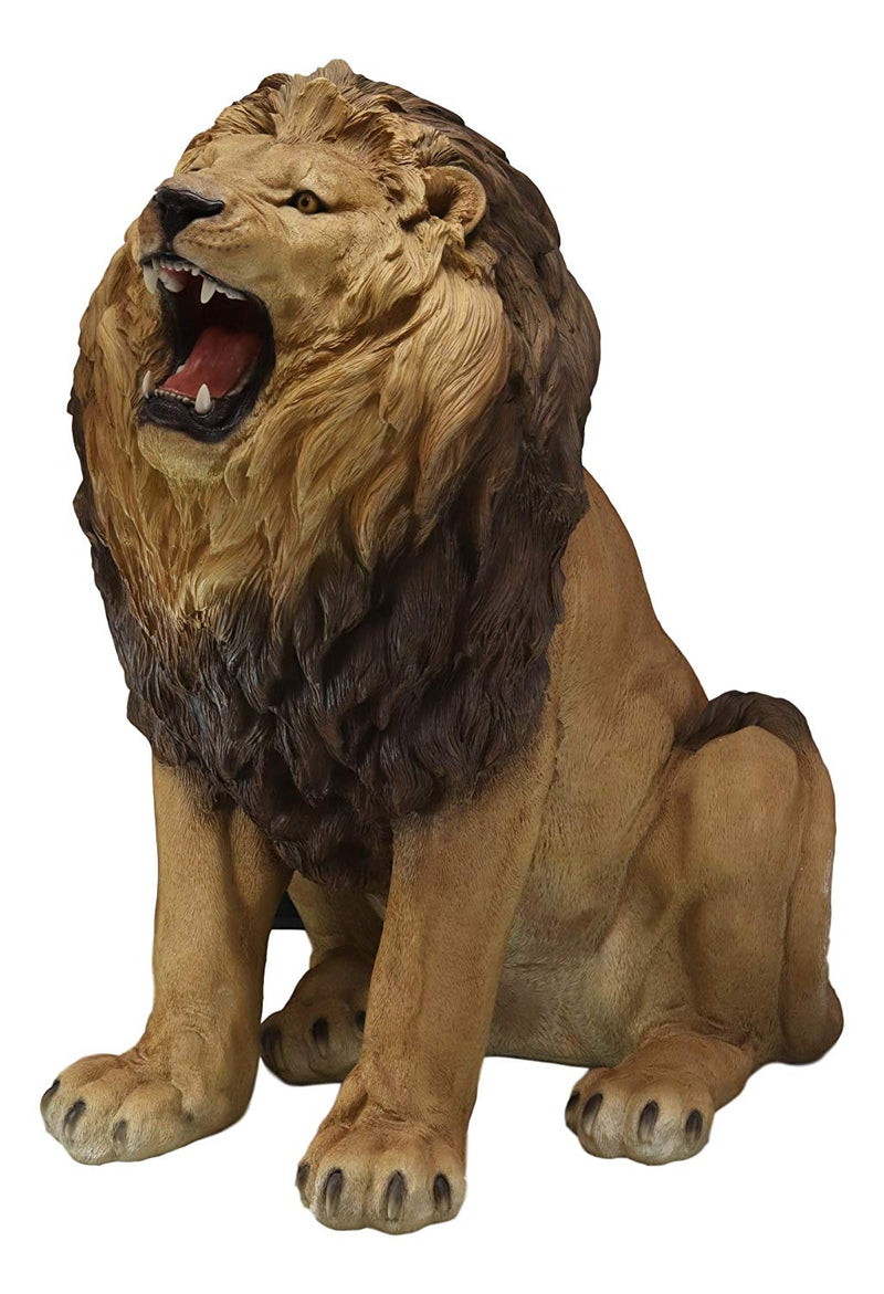Ebros Giant King Of The Jungle African Pride Fierce Roaring Lion Reali Ebros Gift