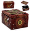 "Ebros Steampunk Mechanical Gears Clockwork Decorative Box Figurine 5""L Science Fiction Time Waits For No Man Jewelry Box"