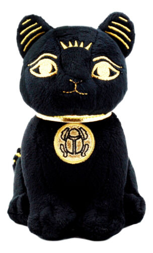Small Egyptian Classical Deity Goddess Bastet Cat Plush Soft Doll Ubasti Bast