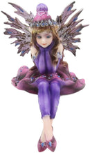 Ebros Pretty Girl Fairy in Winter Evening Gown Clothing Shelf Sitter Figurine