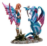 Amy Brown Mother Khaleesi Fairy Time Out Bad Dragon Figurine Fantasy Collectible
