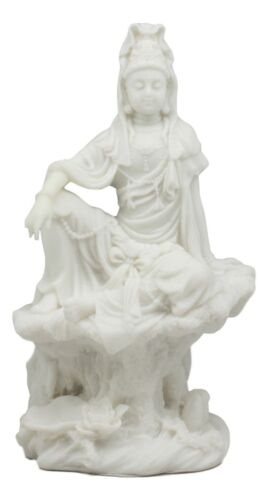 The Water And Moon Goddess Kuan Yin Bodhisattva Statue Immortal Deity Of Mercy