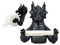 "Ebros Gift Mythical Gothic Ancient Serpentine Dragon Toilet Paper Holder Figurine 8.5""H Sculpture"