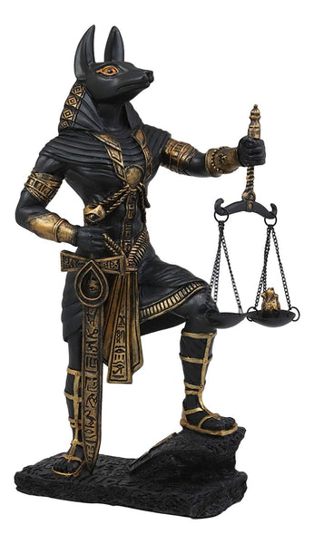 Ebros Gift Ebros Ancient Egyptian God Anubis With Scales