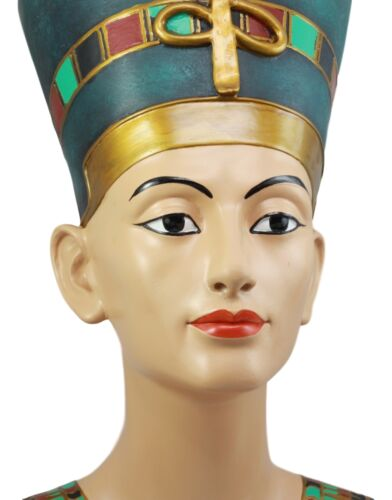 Large Ancient Egyptian Queen Nefertiti Bust Statue 18