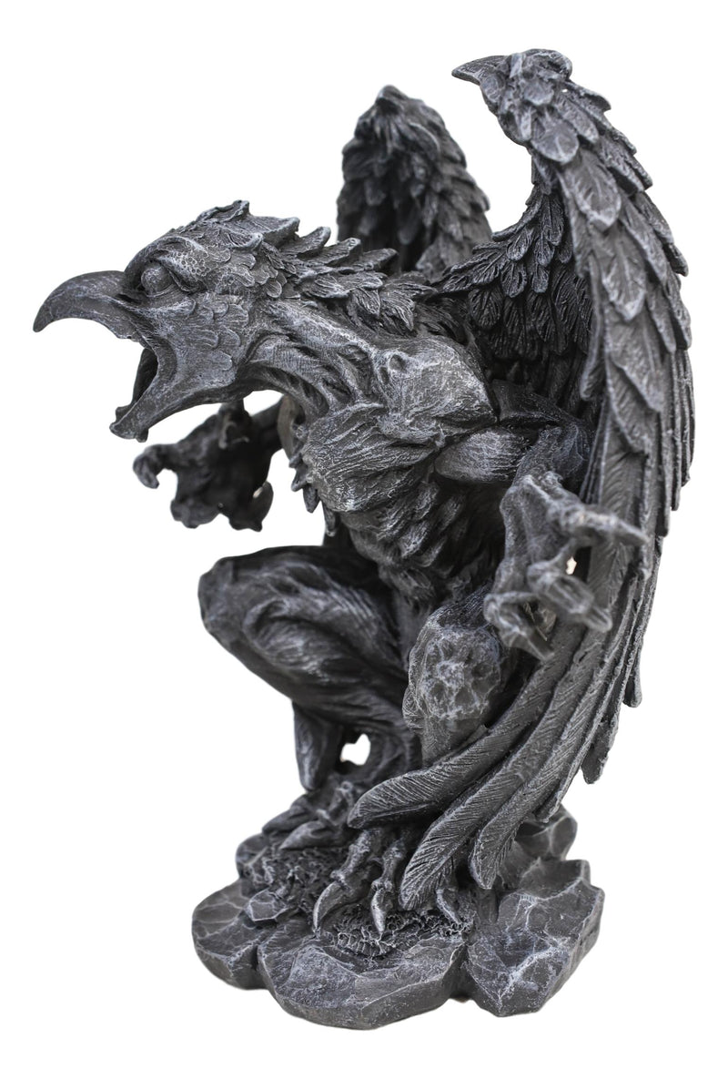 "Gothic Winged Avian Eagle Bird Renegade Gargoyle Decorative Figurine 6.25""H"