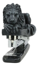Faux Stone Gothic Lion Gargoyle Stapler Decorative Office Accessory Figurine