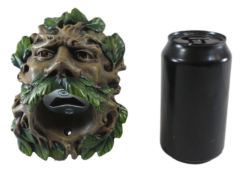 "Ebros Celtic Greenman Wall Mounted Bottle Opener 6""H Home Decor"