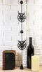 Steel Metal Sigil of Baphomet Pentagram Star Sabbatic Goat Wind Chime Wall Decor