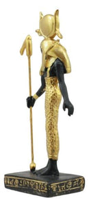 Egyptian Goddess Of Motherhood Hathor Dollhouse Miniature Statue Gods Of Egypt
