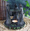 "Triple Goddess Maiden Mother & Crone Candle Holder Oil Wax Warmer Diffuser 5.8""H"