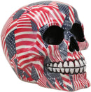 Ebros Day Of The Dead Patriotic Liberty USA Flags Tattoo Sugar Skull Statue