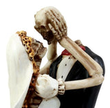 "Ebros Gift Day of The Dead Eternal Wedding Skeleton Bride & Groom Lovers Figurine 11.25"" H True Love Never Dies Collection"
