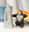 Ceramic King Kong And Empire State Building Salt And Pepper Shakers Figurine Set